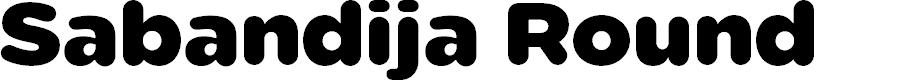 Preview image for Sabandija-ffp Font