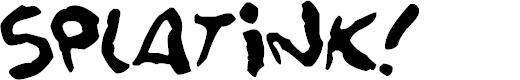 Preview image for Splatink Font