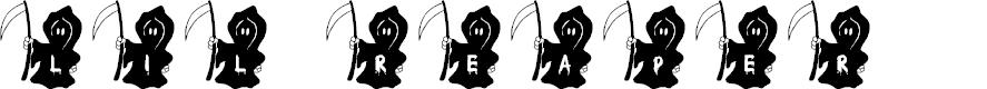 Preview image for JLR Li'l Reaper Font