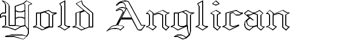 Preview image for Yold Anglican Font