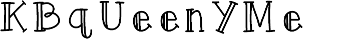 Preview image for KBqUeenYMe Font