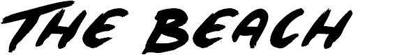 Preview image for The Beach Font