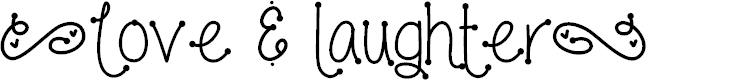 Preview image for Love and laughter Font
