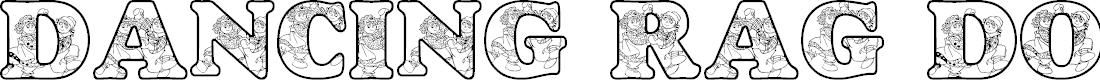 Preview image for LMS Dancing Rag Dolls Font