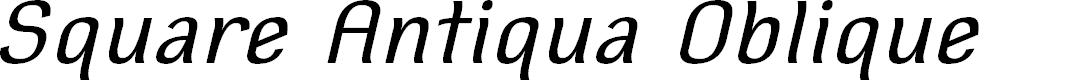 Preview image for Square Antiqua Oblique