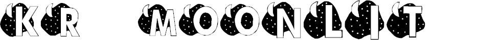 Preview image for KR Moonlit Font