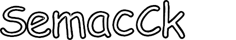 Preview image for SemacCk Font
