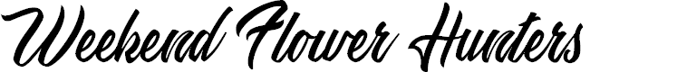 Preview image for Weekend Flower Hunters Personal Use Font