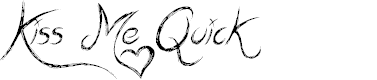 Preview image for Kiss Me Quick Font