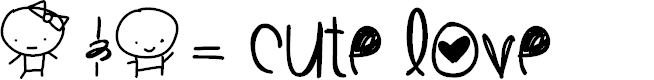 Preview image for CuteLove Font