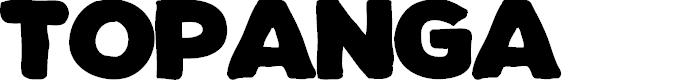 Preview image for TOPANGA  Font