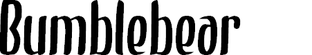 Preview image for Bumblebear Font