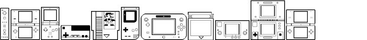 Preview image for Nintendo Dingbats NBP Regular Font