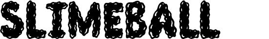 Preview image for Slimeball Font