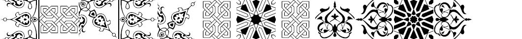 Preview image for AGA Arabesque Desktop Font