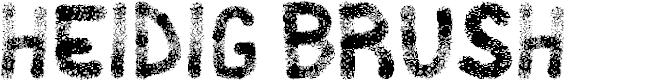 Preview image for Heidig Brush Font