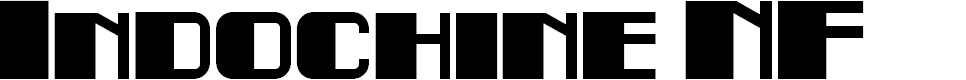 Preview image for Indochine NF Font