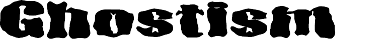 Preview image for D3 Ghostism-Regular