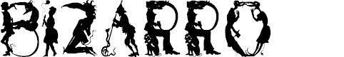 Preview image for Bizarro Font
