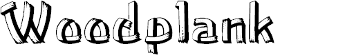 Preview image for Woodplank Font