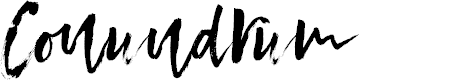 Preview image for Conundrum Font