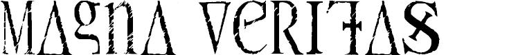 Preview image for Magna Veritas Font