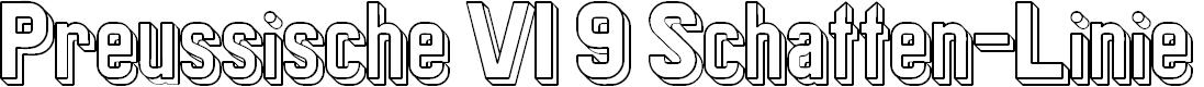 Preview image for Preussische VI 9 Schatten-Linie