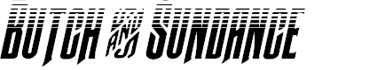 Preview image for Butch & Sundance Two-Tone Italic