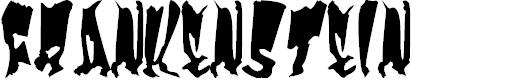 Preview image for Frankenstein Font