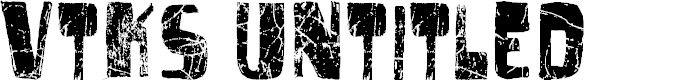 Preview image for vtks untitled Font