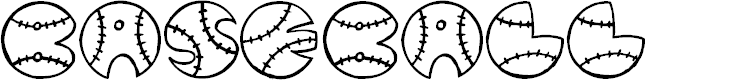 Preview image for JI Baseball Font