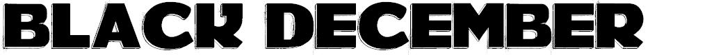 Preview image for BLACK DECEMBER Font