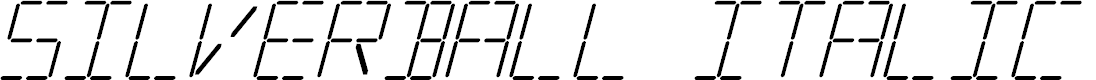 Preview image for Silverball Italic