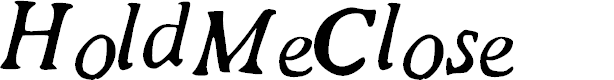 Preview image for HoldMeClose Font