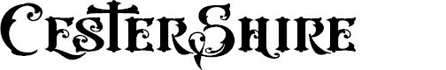 Preview image for CesterShire-VMF Font