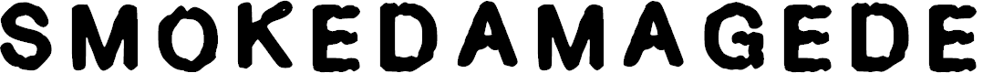 Preview image for Smokedamage_demo Regular Font