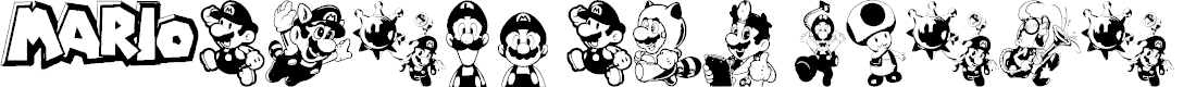 Preview image for Mario and Luigi Font