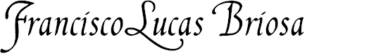 Preview image for FranciscoLucas Briosa Font