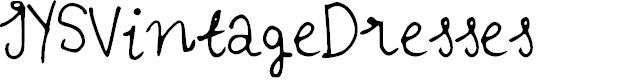 Preview image for IYSVintageDresses Font