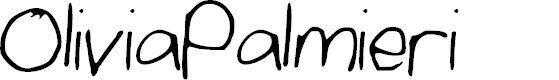 Preview image for OliviaPalmieri Font