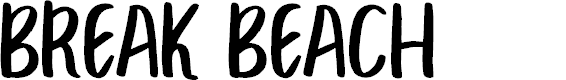 Preview image for BREAK BEACH  Font