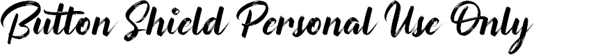 Preview image for Button Shield Personal Use Only Font
