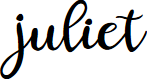 Preview image for juliet Font