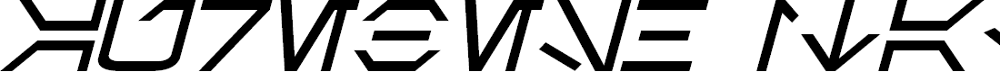 Preview image for Aurebesh Italic