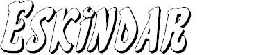 Preview image for Eskindar 3D Italic