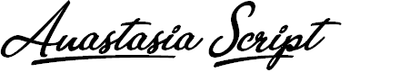 Preview image for Anastasia Script Personal Use Regular Font