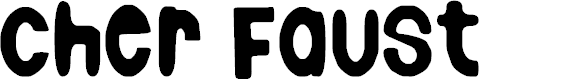 Preview image for Cher Faust Font