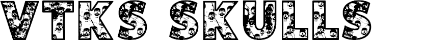 Preview image for VTKS SKULLS Font