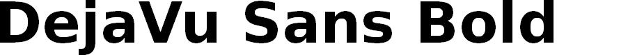 Preview image for DejaVu Sans Bold