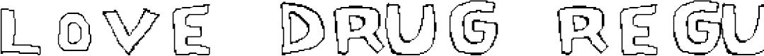 Preview image for Love Drug Regular Font